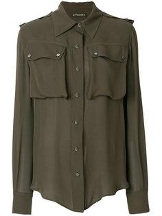 рубашка милитари Plein Sud