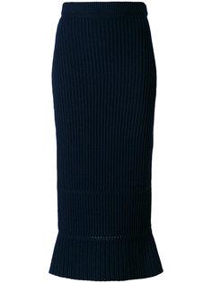 асимметричная юбка в рубчик Ports 1961