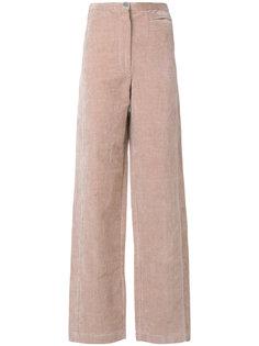 мягкие брюки с завышенной талией Lemaire