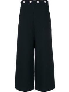 широкие брюки с высокой талией Tory Burch