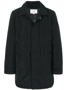 стеганое пальто на молнии Peuterey