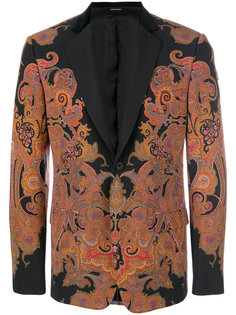 пиджак Engineered Paisley Alexander McQueen