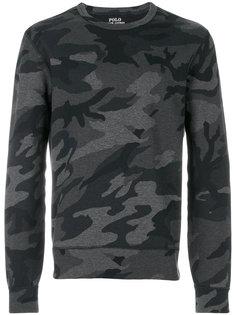 свитер с камуфляжным принтом Polo Ralph Lauren