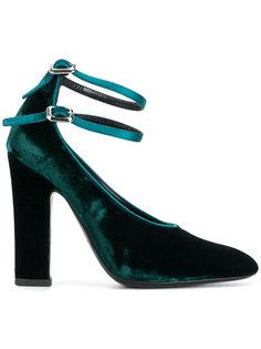 туфли-лодочки с двойным ремешком Deimille