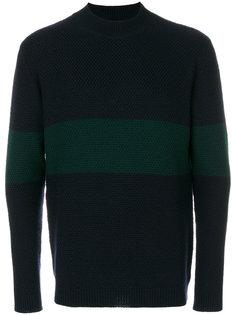 свитер с полосатыми панелями Labo Art