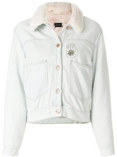укороченная джинсовая куртка Isabel Marant