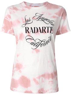 футболка с логотипом Rodarte
