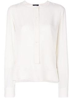блузка без воротника  Theory
