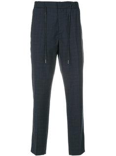 укороченные брюки с эластичным поясом Drumohr