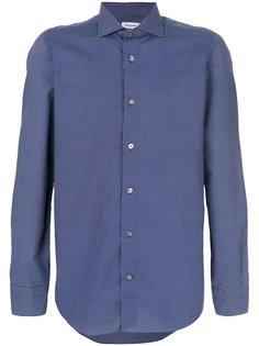 рубашка с мелким узором Drumohr