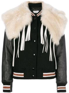 куртка с отделкой Coach