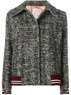 декорированная куртка с узором шеврон Nº21