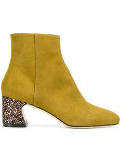 ботинки на каблуке с блестками Benedetta Boroli