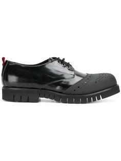 туфли со шнуровкой и прорезиненным носком Attimonellis