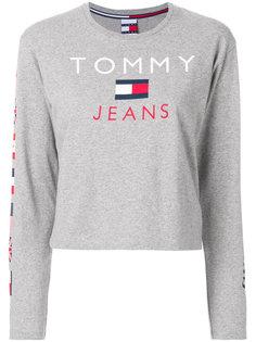 толстовка с принтом флага Tommy Jeans