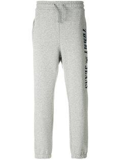 спортивные брюки с вышивкой логотипа Tommy Jeans