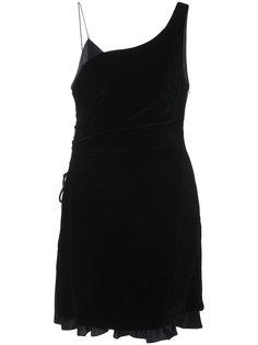 wrap style mini dress Cinq A Sept
