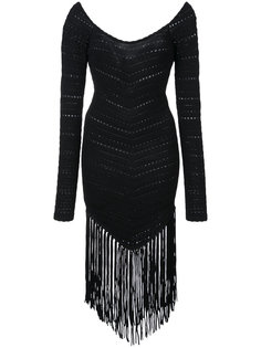 fringed dress Ronny Kobo