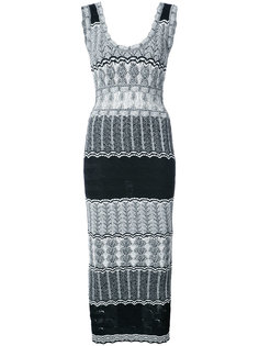 fitted knit dress Ronny Kobo
