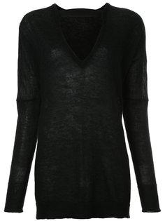 свитер с вырезной деталью Rito