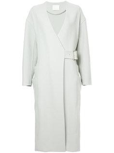 пальто с поясом Rito