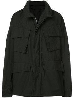 пальто с карманами с клапанами Julius