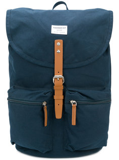 рюкзак с пряжками Sandqvist