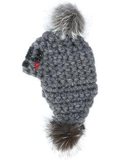 шапка с помпоном Philipp Plein