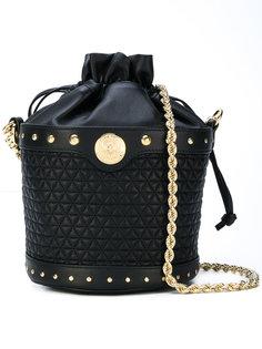 стеганая сумка-ведро на плечо Balmain