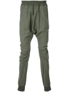 брюки с заниженной проймой Julius