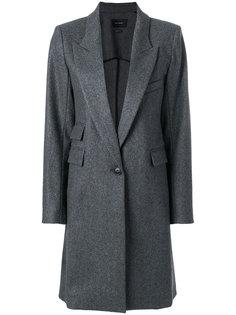 однобортное пальто Isabel Marant