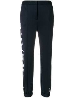 спортивные брюки с логотипом Love Manifesto Versace