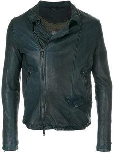фактурная куртка на молнии Giorgio Brato