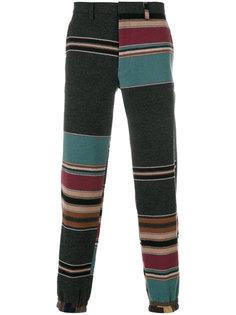 полосатые спортивные брюки Kolor