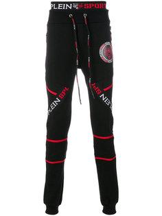 спортивные брюки с графическим принтом Plein Sport