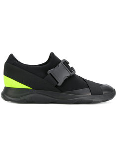 кроссовки с пряжками Christopher Kane