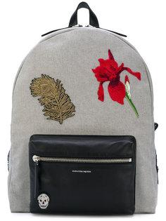 рюкзак с вышивкой Alexander McQueen
