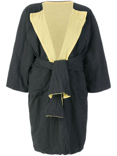 двухстороннее пальто с запахом  Daniela Gregis