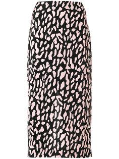 юбка миди с принтом  Dvf Diane Von Furstenberg