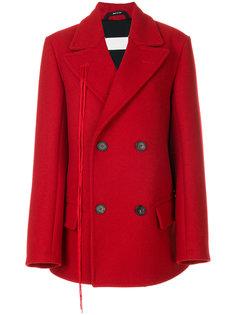 короткое двубортное пальто Maison Margiela