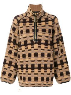 пуловер с узором интарсия  Marc Jacobs