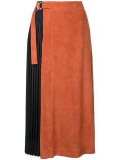 плиссированная юбка миди  Guild Prime