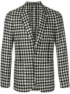 пиджак с узором в ломаную клетку Paul Smith