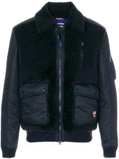 куртка-бомбер  из овчины Rossignol
