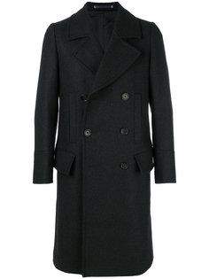 двубортное пальто Ps By Paul Smith