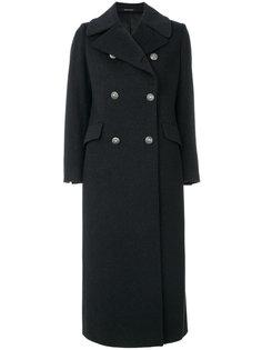 приталенное двубортное пальто Tagliatore
