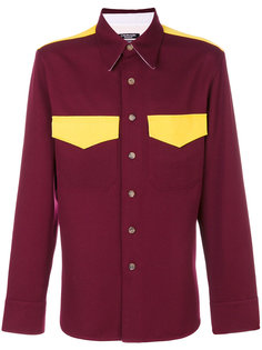рубашка с контрастными карманами Calvin Klein 205W39nyc
