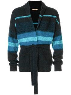 пуловер в полоску Nuur