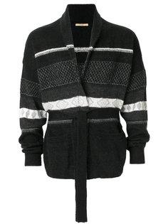 пуловер с завязкой на поясе Nuur