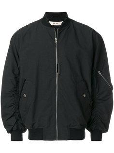 куртка бомбер со сборками на рукавах Damir Doma